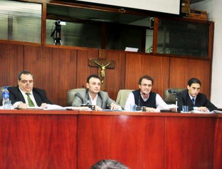 Katopodis dió inicio al 129° periodo de sesiones del Concejo Deliberante de San Martín
