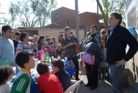 Alex Campbell inauguró un nuevo local partidario junto a la Agrupación Peronismo Independiente en el Barrio Aviación