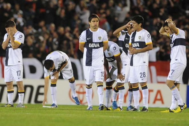 A Boca no le sonrieron los penales y Newells sigue en la Libertadores