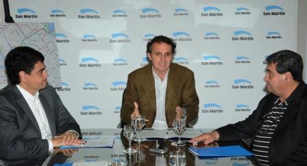 Katopodis, Curto y Jorge Macri firmaron el acta constitutiva del Comité de la Cuenca Medrano