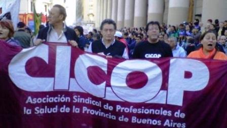 Médicos bonaerenses nucleados en Cicop piden convocatoria a paritaria