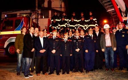 El Municipio de San Fernando entregó a los Bomberos Voluntarios 4 flamantes unidades
