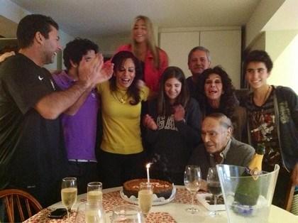 Iliana Calabró festejó el sábado un nuevo cumpleaños rodeada por su familia.