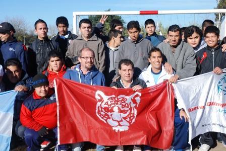 Arrancó la nueva Liga de Fútbol Especial en el polideportivo de Pacheco