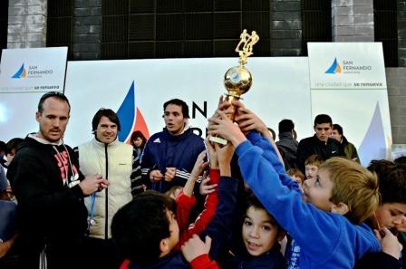 """Exitoso encuentro de las """"Escuelas de Fútbol"""" de San Fernando"""