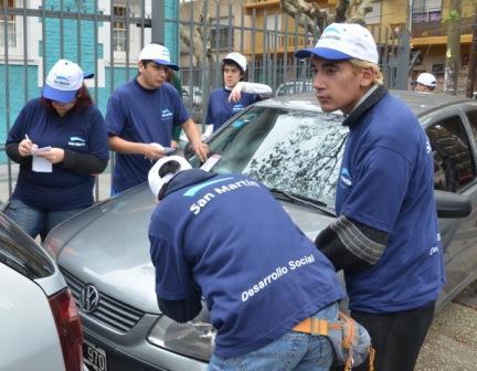 """Concluyó la """"Semana de la Seguridad Vial"""" en San Martín"""