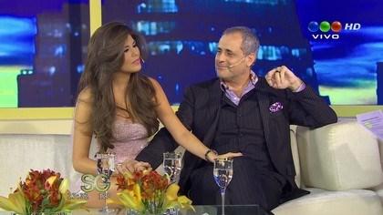 Jorge Rial y Mariana Antoniale mostraron su amor en el programa de Susana Giménez