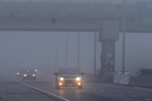 Una densa niebla vuelve a afectar accesos a la ciudad y rutas