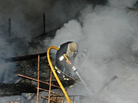 Un Incendio destruyó el Centro de Salud Absalón Rojas en Islas de San Fernando