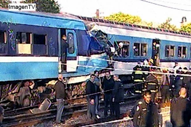 Chocaron dos trenes a metros de la estación de Castelar