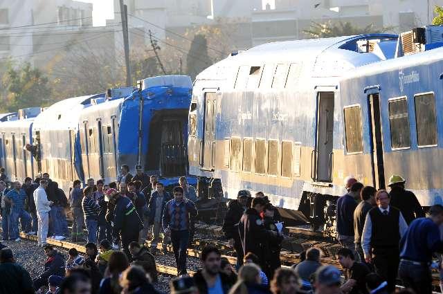 Choque de trenes en Castelar