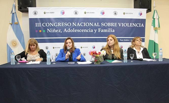 Alejandra Velázquez, Fernanda Nuevo, Roxana Marga y María Susana Césari