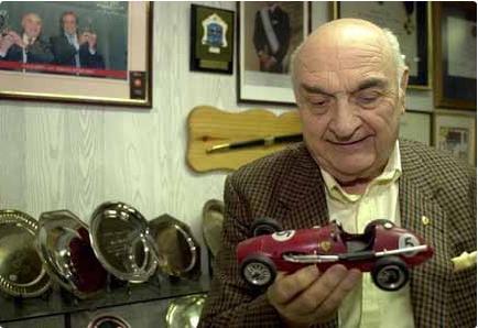 Murió José Froilán Gonzalez, una gloria del automovilismo nacional
