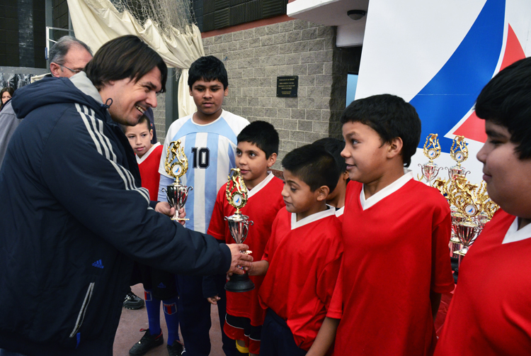 Se disputó en San Fernando el Torneo Intercolegial de Futsal 2013