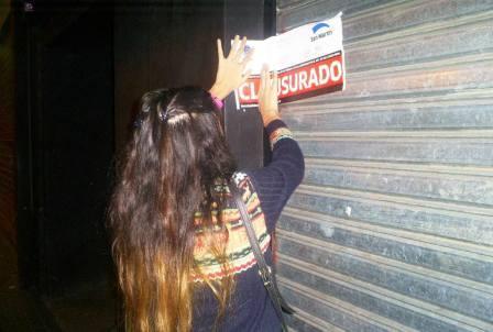 Clausuran un boliche y un restaurante en San Martín