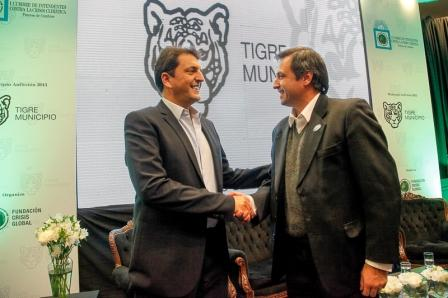 Massa y Mestre en el HCD de Tigre