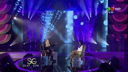 Karina Jelinek se confesó en el programa de Susana Giménez