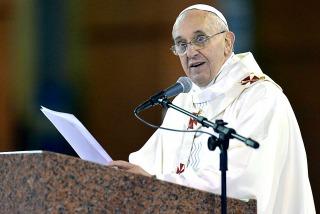 """Franciscó insto a """"decir no a cualquier tipo de drogas"""""""