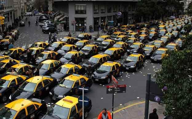 taxis porteños