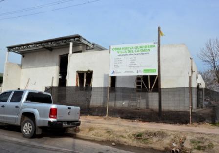 Avanzan las obras de la nueva UDI de Villa del Carmen