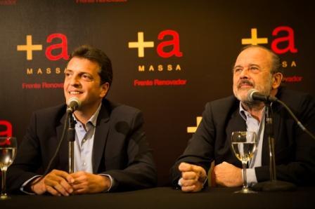 Massa sumó a Amadeo al Frente Renovador