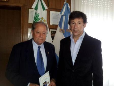 Posse recibió a Ricardo Peréz, flamante gobernador del Club de Leones