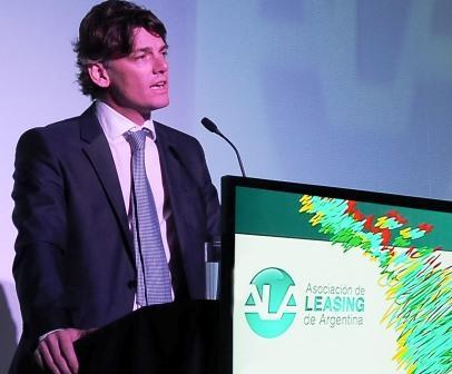 El presidente de ALA -Asociación de Leasing de Argentina–  Nicolás Scioli
