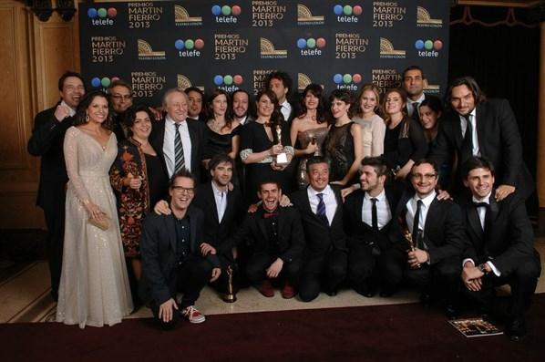 Graduados el gran ganador de los Martín Fierro