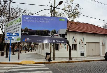 Teatro Martinelli: renovación y ampliación del espacio cultural más importante de San Fernando