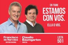 Claudio Baumgarten, el candidato de Francisco De Narváez en Tigre