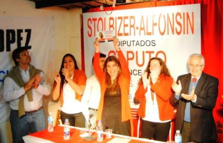 Paola Caputo actual concejal y candidata a renovar su banca en el Concejo Deliberante de Vicente López