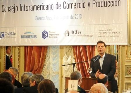 Massa se reunió con el Consejo Interamericano de Comercio y Producción (CICYP)