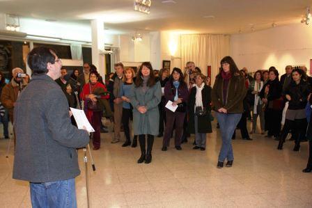 Se inauguró la 6ta. Muestra de Arte en el Concejo Deliberante de Vicente López