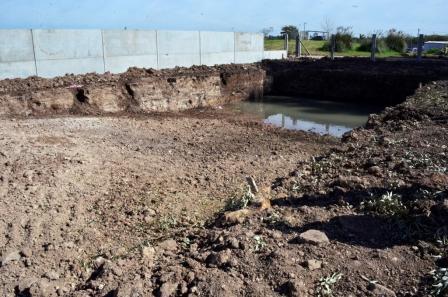 Se iniciaron las obras del futuro Polideportivo de Villa Jardín