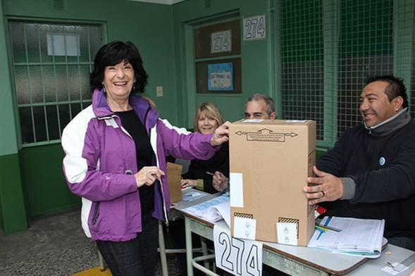 Juana Posse, la primera candidata a concejal por la lista que presenta Gustavo Posse
