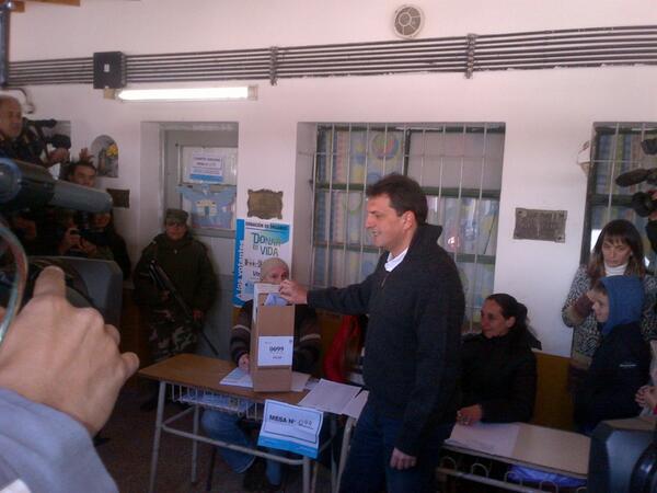 Sergio Massa, llamó a los ciudadanos a cumplir con el deber de votar en el marco de las PASO