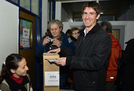 Voto de Juan Andreotti