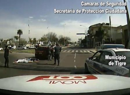 Video de la detención e de barras de Tigre armados