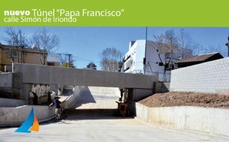 San Fernando Inaugura el Túnel de Simón de Iriondo Papa Francisco