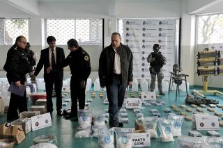 Secuestran más de 170 kilos de drogas en San Martin