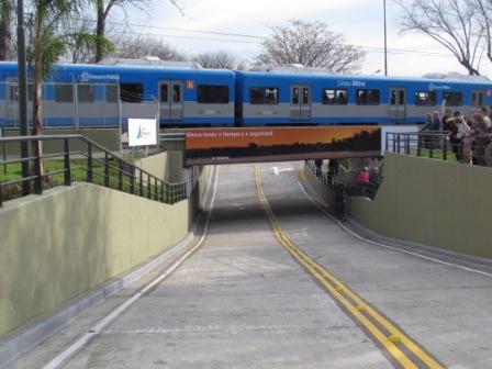 San Fernando inauguró el túnel bajo nivel de Simón de Iriondo