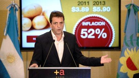 Massa presentó su plan antiinflacionario