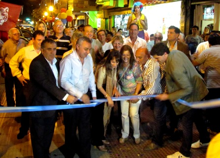 Se inauguró el remodelado Centro Comercial de General Pacheco