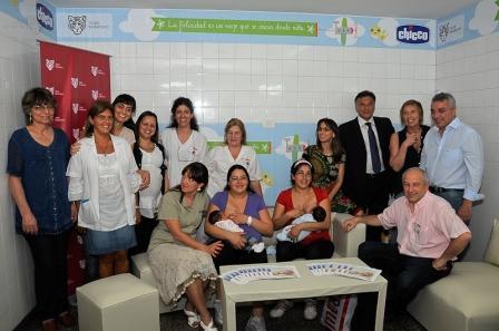 Tigre abrió un lactario para madres de recién nacidos