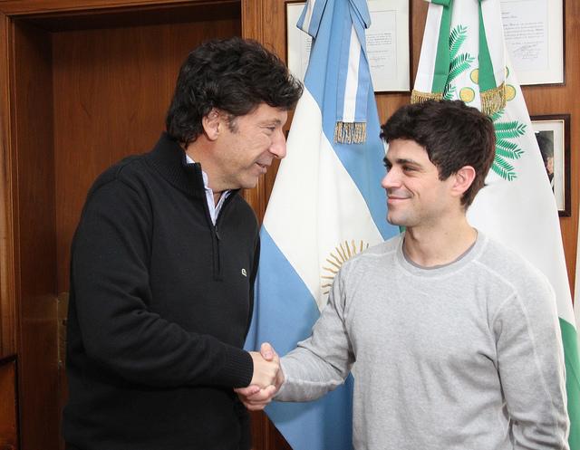 Federico Molinari es el nuevo coordinador de la Escuela de Gimnasia Artística de San Isidro