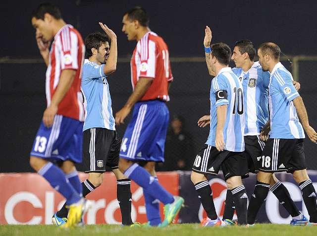 Argentina abrochó en Asunción su clasificación al mundial de Brasil