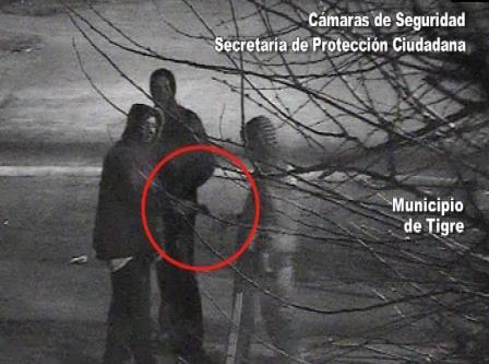 Por las cámaras de Tigre reducen a malvivientes armados