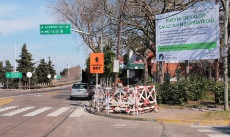 Vicente López anunció obras para poner en valor toda la traza de Zufriategui