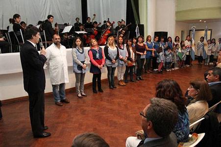 Festejaron en San Isidro el día del maestro