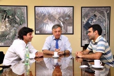 Federico Ugo se reunió con el presidente del Ceamse